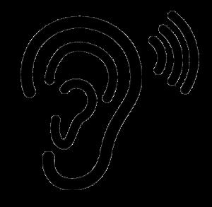 ear-hearing-icon-kun-sort-farve